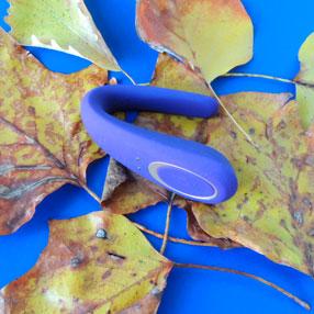 Satisfaer Partner Toy на листьях